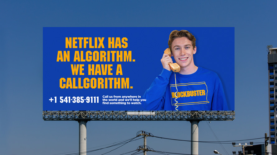 blockbuster billboard