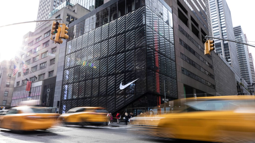 the nike store in new york