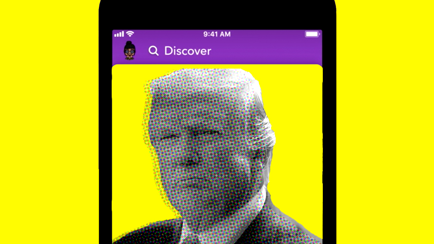 Snapchat Will No Longer Promote President Trump's Account