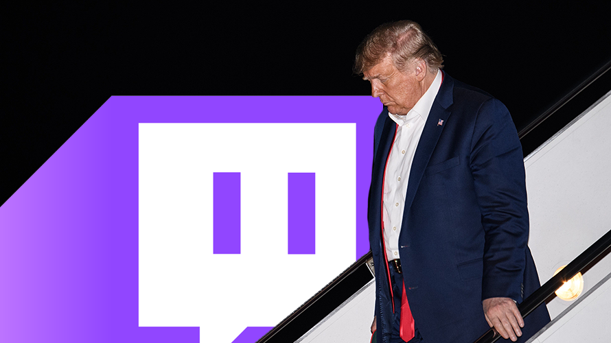 Donald Trump Suspended From Twitch Over 'Hateful Conduct' Violations