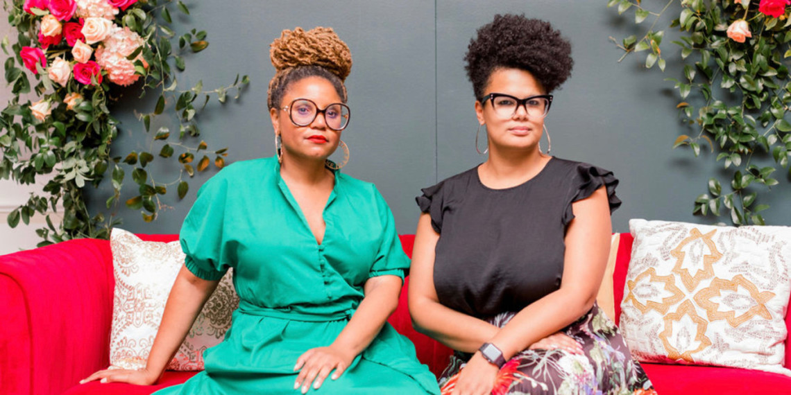 verb agency founders Yadira Harrison (left) and Shannon Simpson Jones