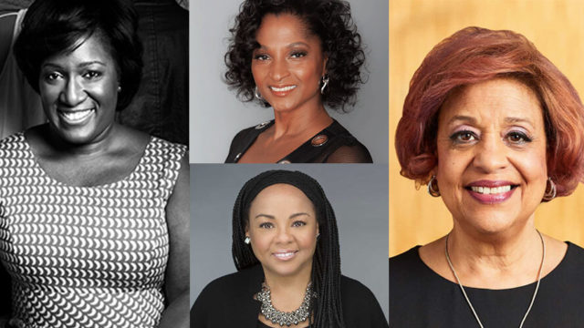 Photos of Tiffany R. Warren, Adrianne Smith, Heide Gardner and Judy Jackson