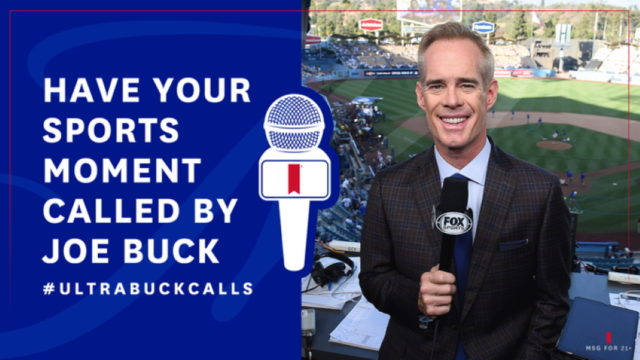 Michelob Ultra and Joe Buck Want Fans to Share Their Great Backyard Sports Calls
