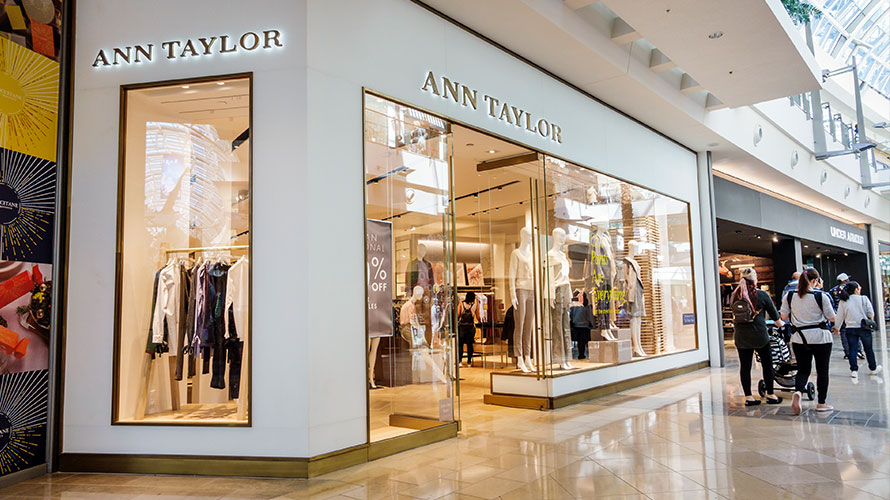 an ann taylor storefront