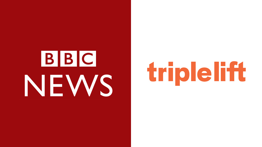bbc news and triplelift logos