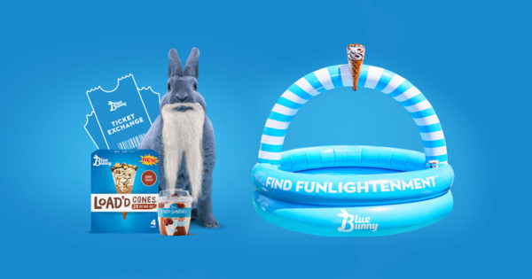 Blue Bunny Wants to Bring Some Sunshine to This Abnormal Summer