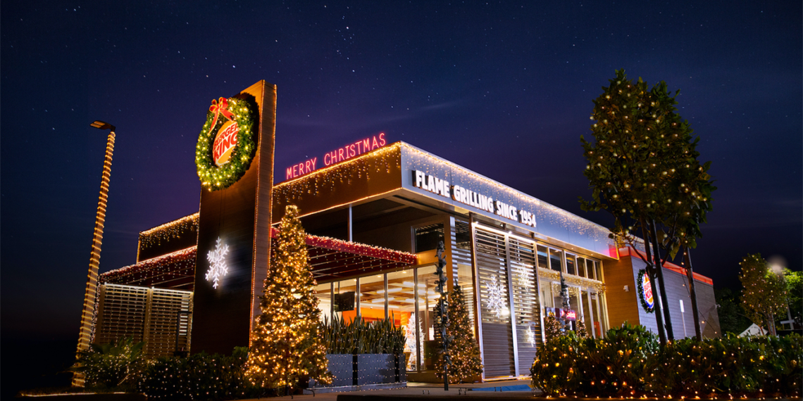 Image of Christmas in July for Burger King