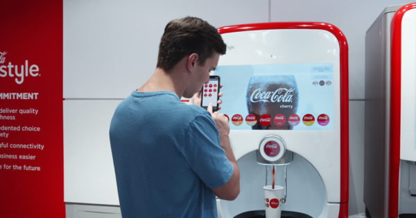 Coke's Freestyle Vending Machine Is Going Touchless