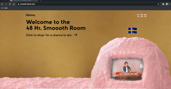 Klarna's Online Shopping Pop-Up Disappears After 48 Hours