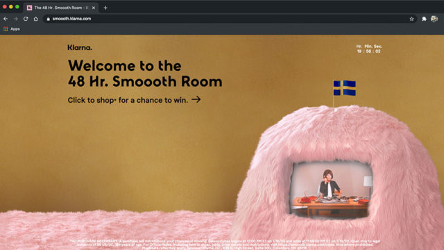 Screenshot of the Smoooth Room