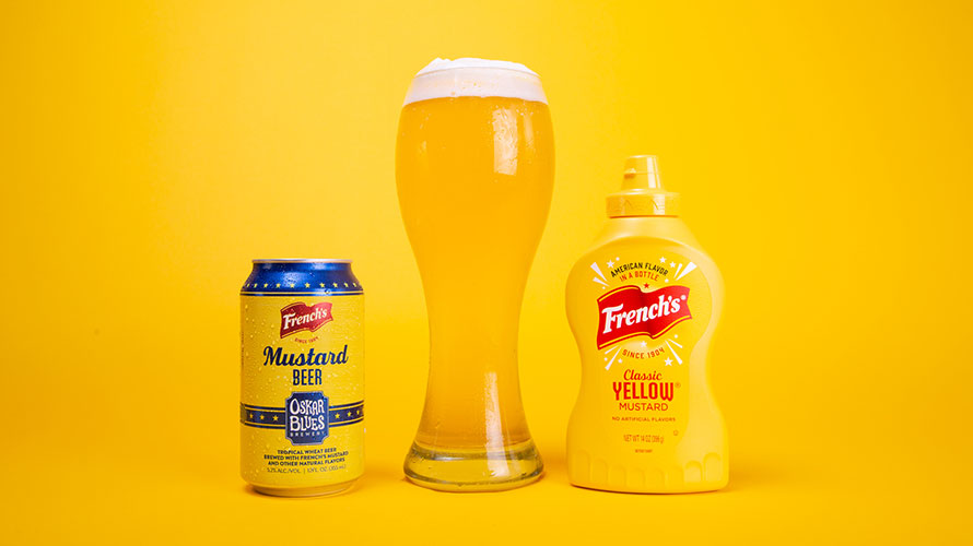 French's beer and French's mustard in a photo