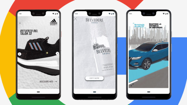 Smartphones with images from Adidas, Belvedere Vodka and Nissan