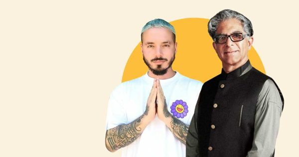 Deepak Chopra Created a Meditation App With J Balvin