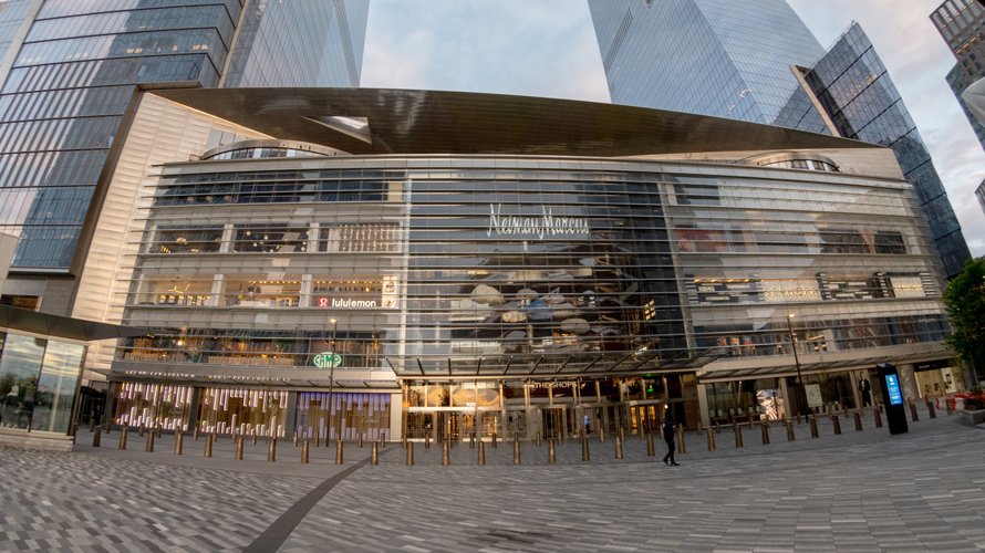 hudson yards facade