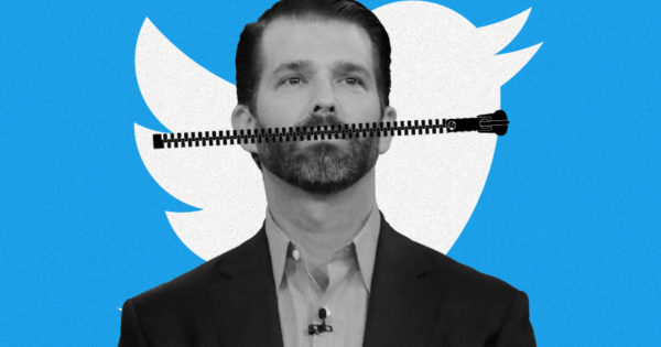 Image of article 'Twitter Punishes Donald Trump Jr. for Spreading Covid Lies'