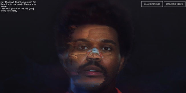 AI-generated photo of The Weeknd
