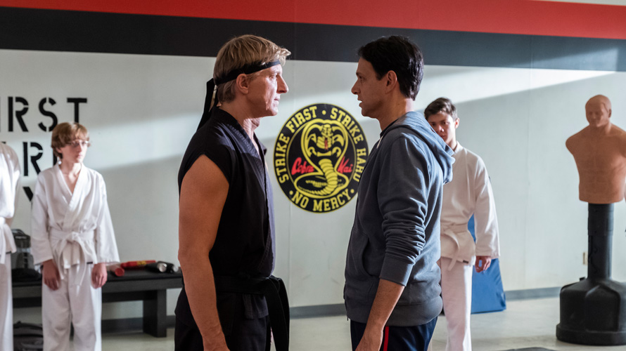 Still from Cobra Kai