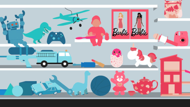 Photo from Read More: Consumers Don't See Sex as Binary, So Why Are Toys Always Pink and Blue?