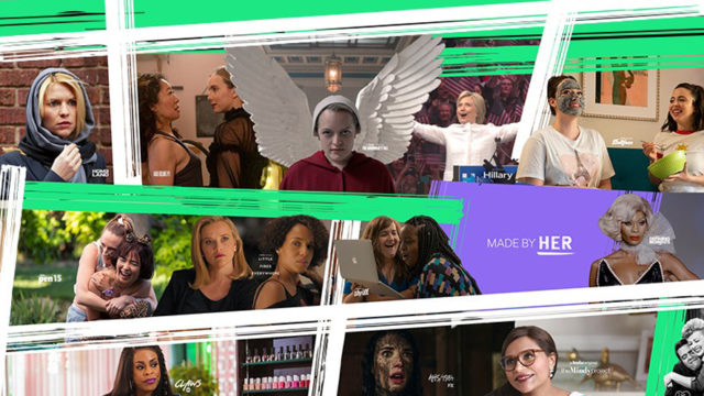 Collage of Hulu shows