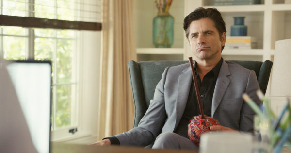 John Stamos Will Knit You a Scarf in the Name of Geico