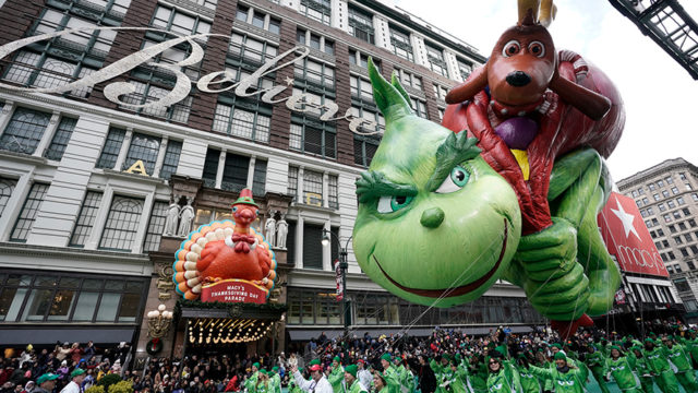 Image from a previous Macy's Thanksgiving Day Parade
