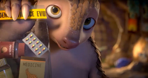 This Animated Pangolin Is Trying to Get Hollywood's Attention