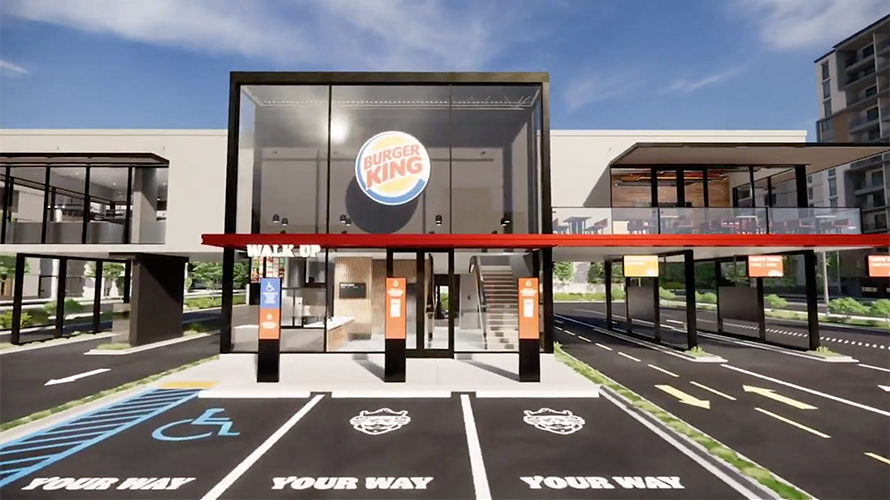 New Burger King design