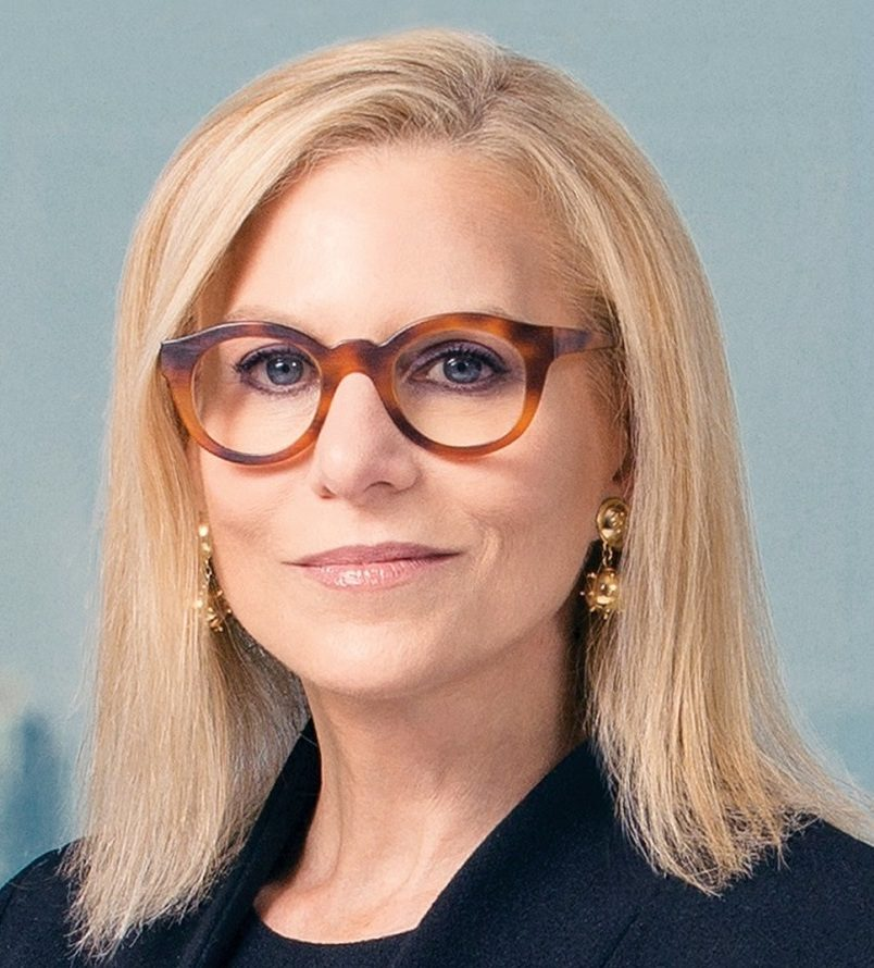 Portrait of Dawn Ostroff, Chief Content and Advertising Business Officer, Spotify