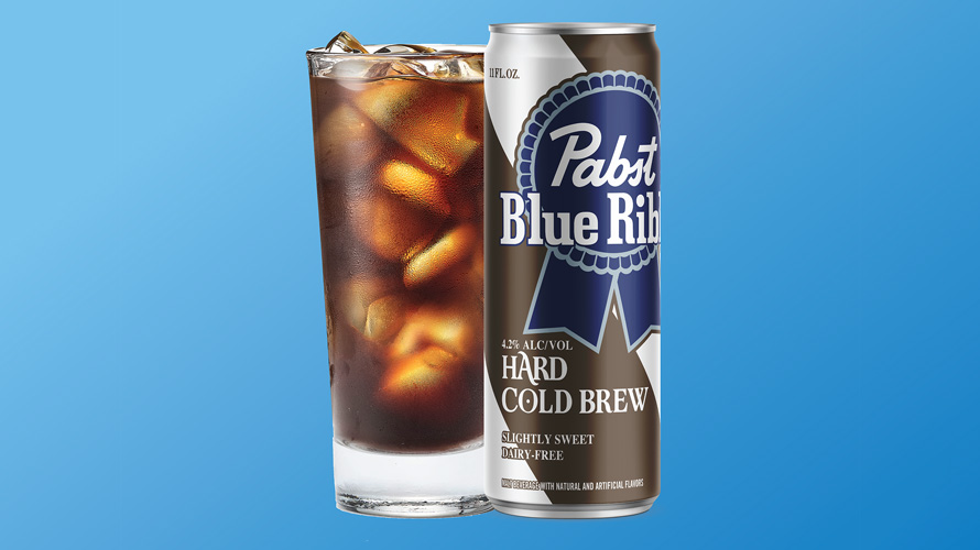 Image of Pabst Blue Ribbon's Hard Cold Brew