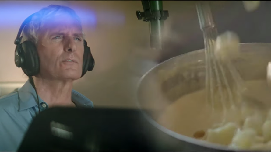 Screenshot of Michael Bolton in new Panera ad