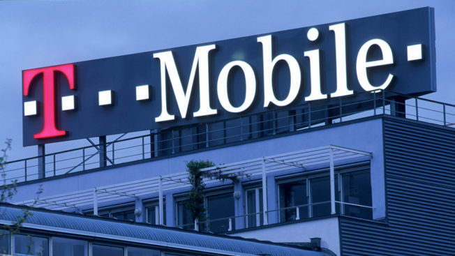 T-Mobile sign