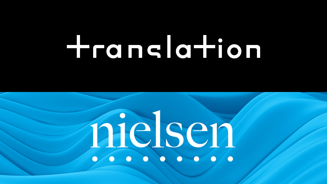 The Translation and Nielsen logos