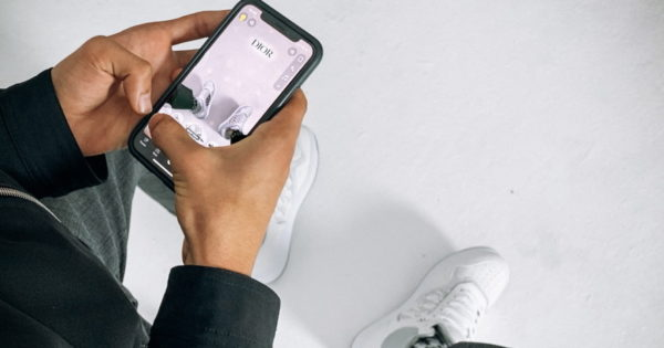 Dior Lets Snapchatters Virtually Try On Its New B27 Sneaker
