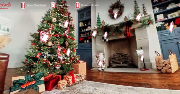 Michaels to Bring 360-Degree Immersive Holiday Shopping Experiences to Pinterest