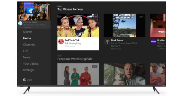 Vizio SmartCast TV Adds Facebook Watch App