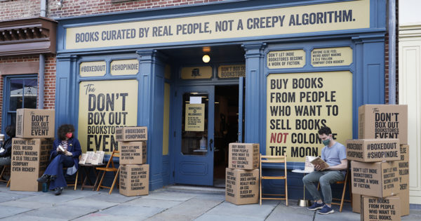 How an Agency Cut Through 'Purpose Clutter' With Its Bookstore Campaign Trolling Amazon