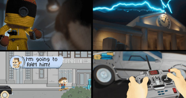 As Back to the Future Turns 35, Fans Animate Iconic Scenes