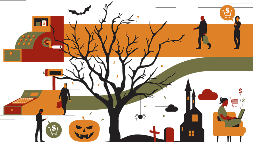 Halloween Drops 2020 Infographic: Retailers Beware, You're in for a … Scary Drop in