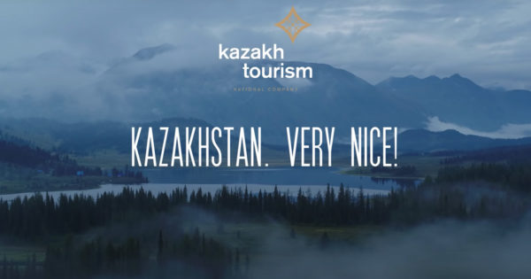 Kazakhstan Takes a Cue From Borat and Reminds Visitors That It's 'Very Nice!'