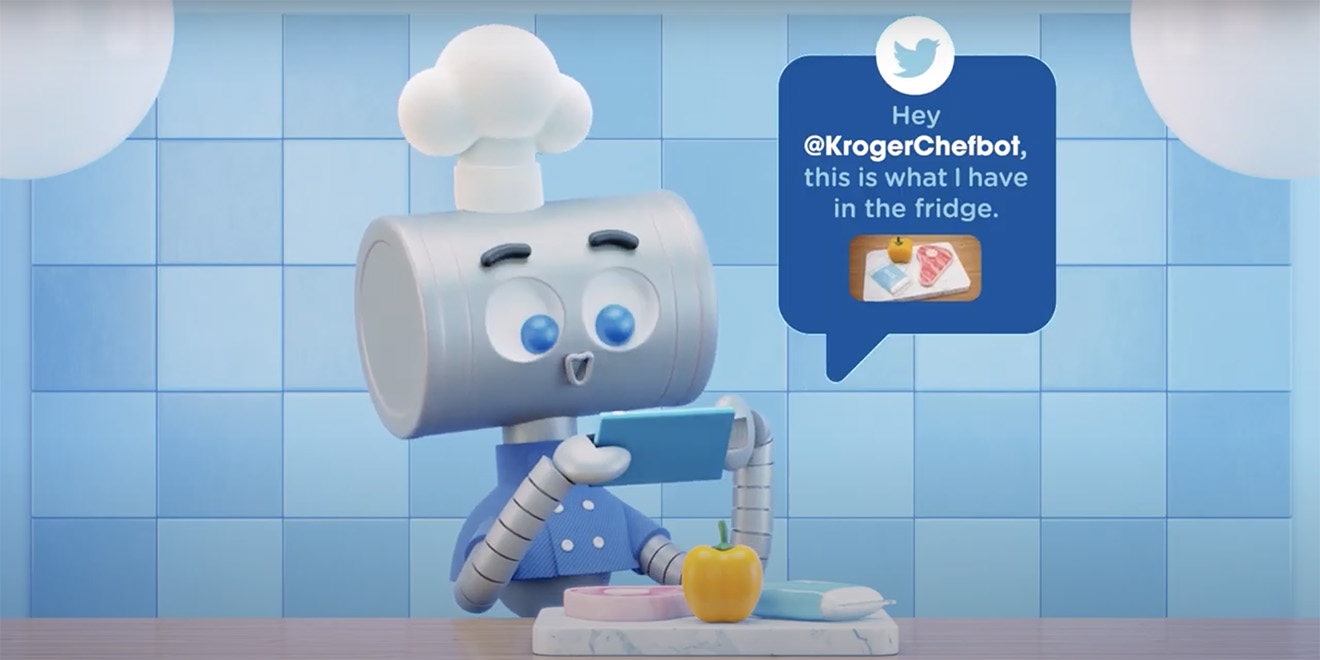 Illustration of the Kroger Chefbot