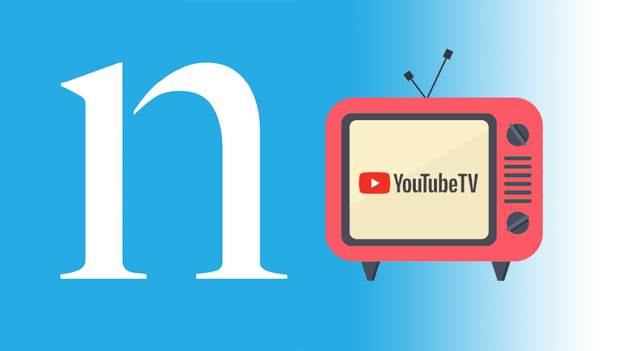 Nielsen and YouTube TV logos