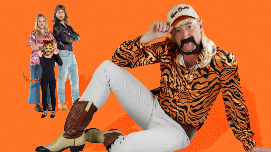 Tiger King Halloween Costume via Party City