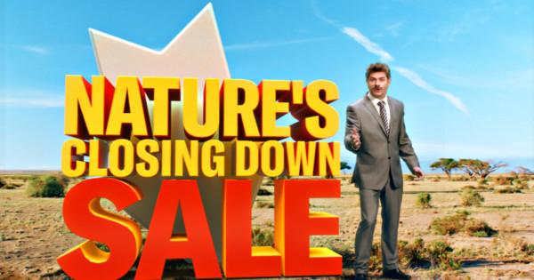 This 'Nature's Closing Down Sale' Is a Wildlife Decline PSA
