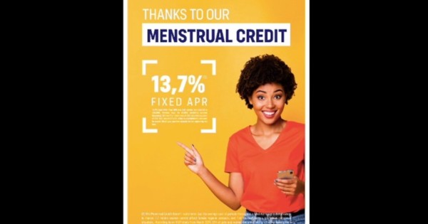 These Fake Finance Ads Highlight a Real Problem: Period Poverty