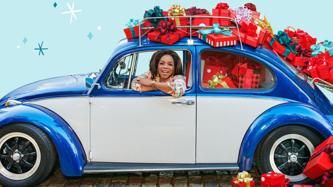 oprah winfrey favorite things holiday list