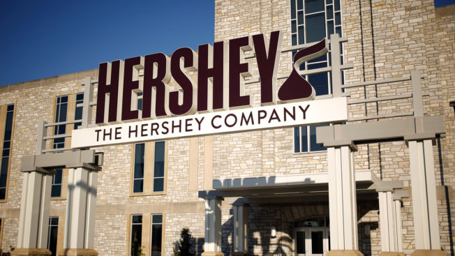 Photo of a Hershey Company building