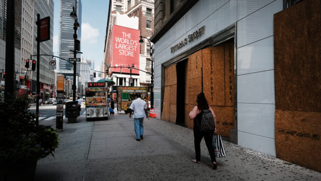 From Rodeo Drive to the Magnificent Mile and beyond, retailers ranging from CVS to Louis Vuitton have boarded up their storefronts as they brace for vandalism as election results come […]