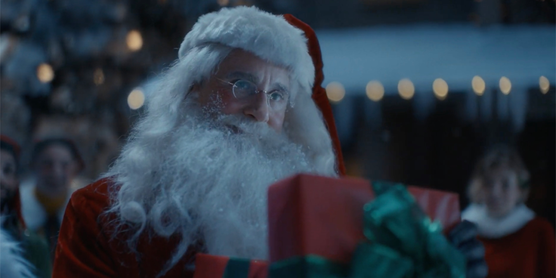 Frustrated by 2020, Steve Carell's Santa Finds Holiday Joy in Ad