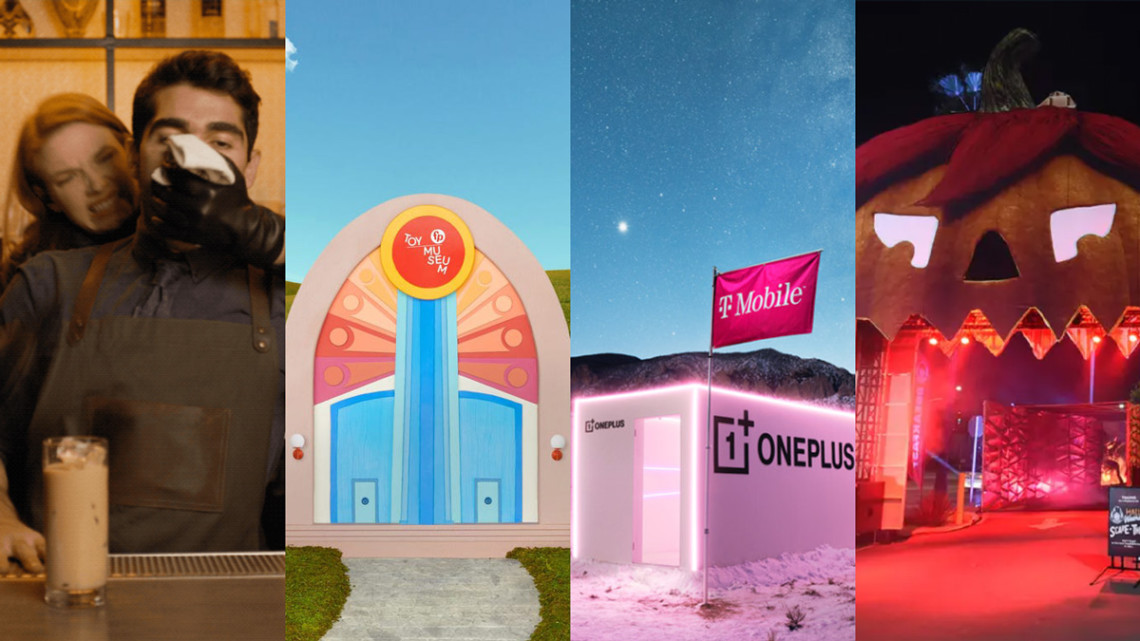 Brand activation photos from HBO Max, Fisher-Price, T-Mobile and Wendy's