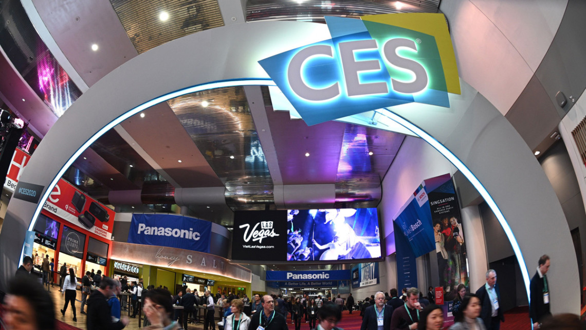 Photo from a past CES